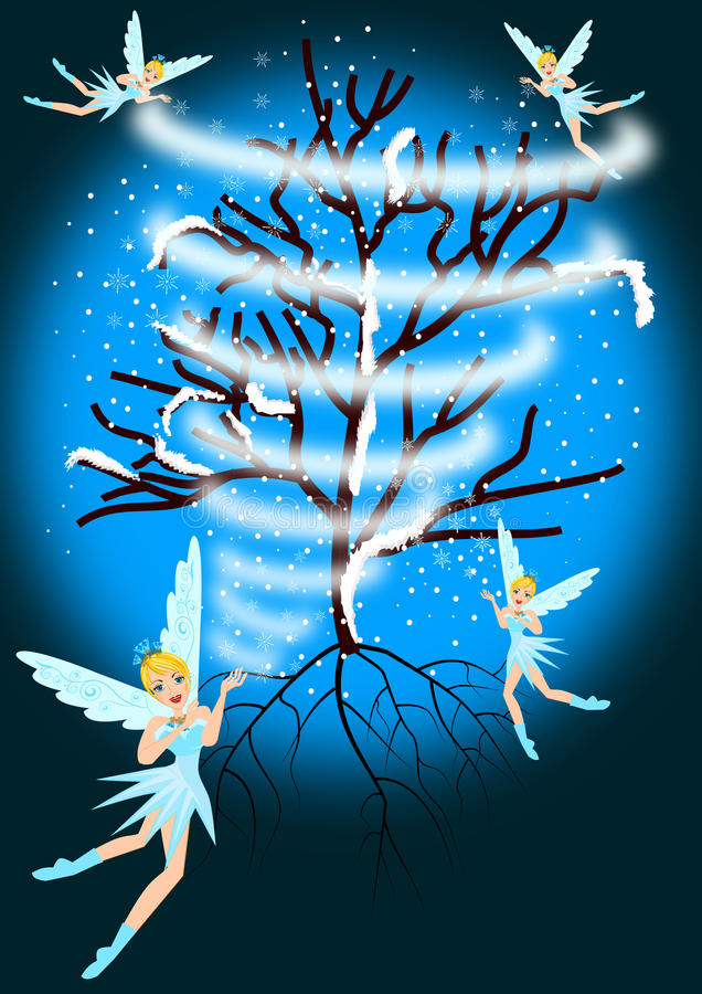 Free Winter Fairy Stock Photos - 49415053