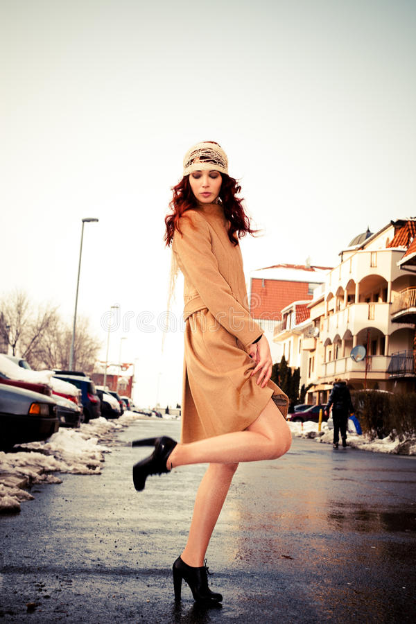 Download Winter fashion stock image. Image of cute, fashion, elegance - 18651645