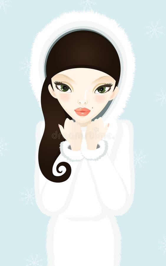 Free Winter Fashion Girl Stock Image - 11415751