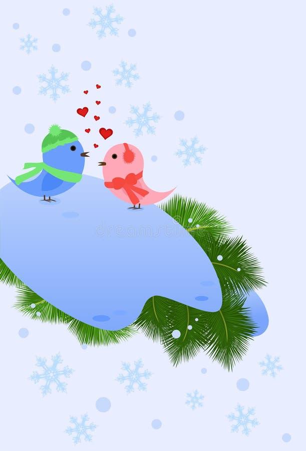 Winter-Feiertage vektor abbildung