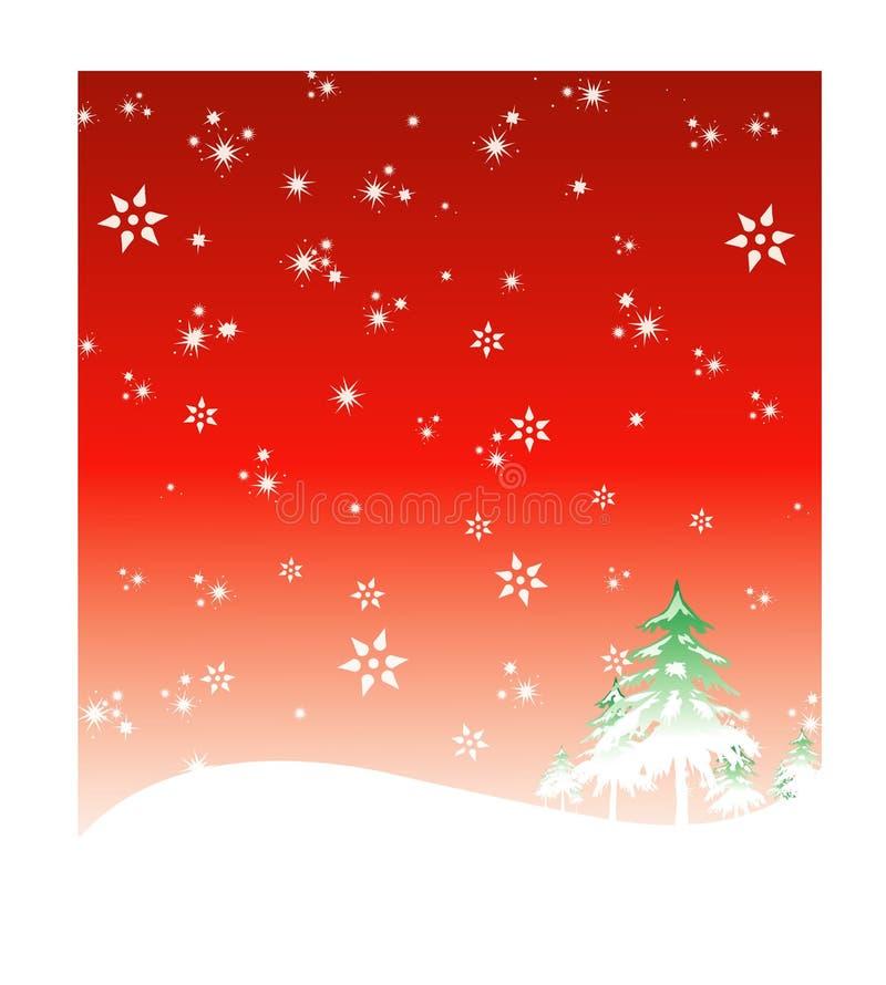 Winter-Feiertagshintergrund 2 vektor abbildung