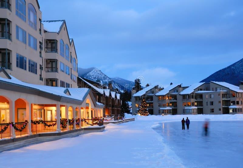Winter-Ferien in Kolorado lizenzfreies stockbild