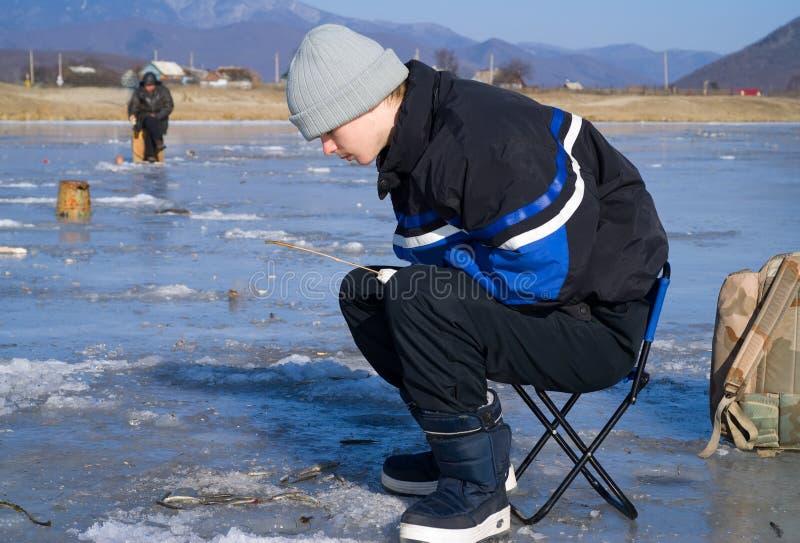 Winter Fishing 47 Royalty Free Stock Image