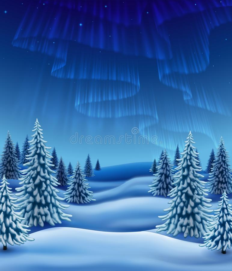 Free Winter Forest Royalty Free Stock Photography - 80941687
