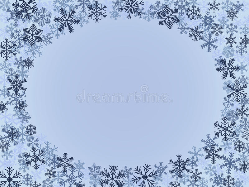 Download Winter Frame stock photo. Image of crystal, christmas - 11156572