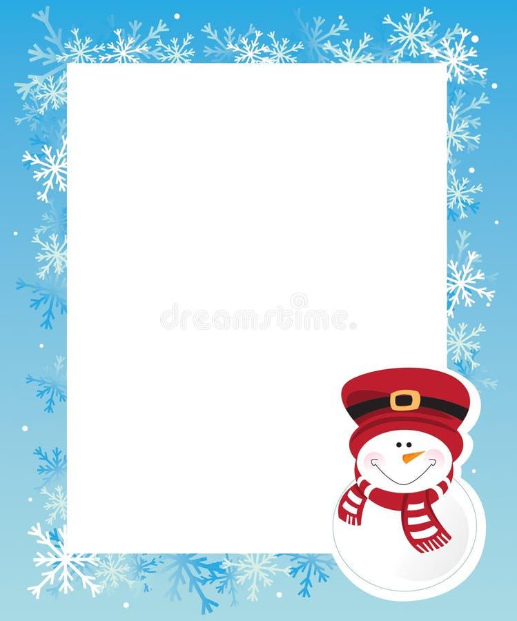 Download Winter frame stock vector. Image of vector, winter, elements - 22747550