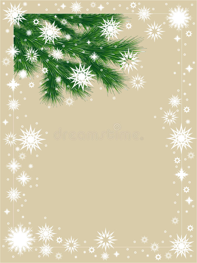 Free Winter Frame With Snowflakes Stock Images - 11898814