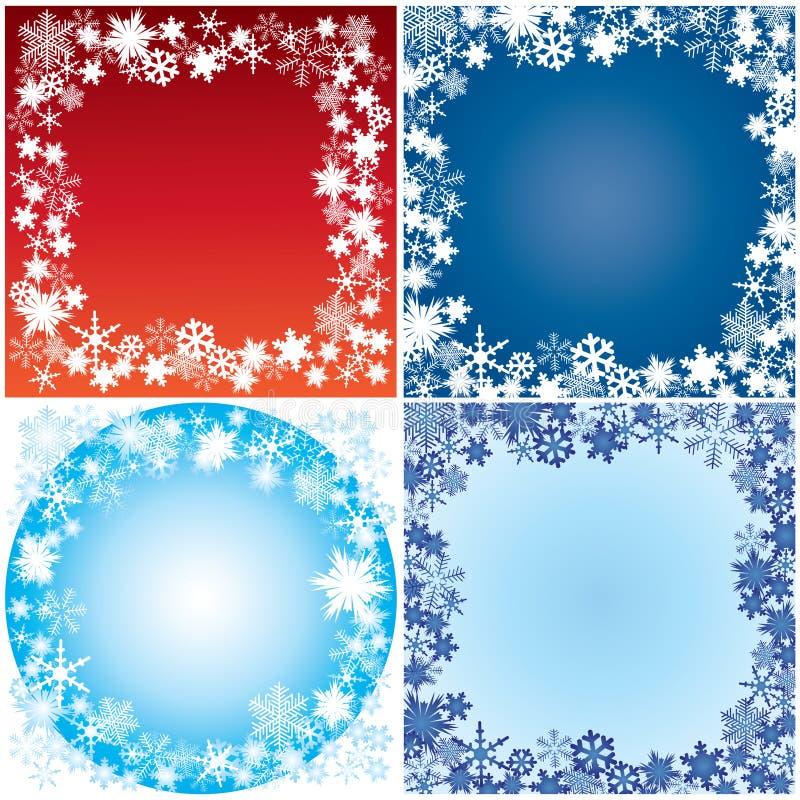 Download Winter Framework. Royalty Free Stock Images - Image: 17178509