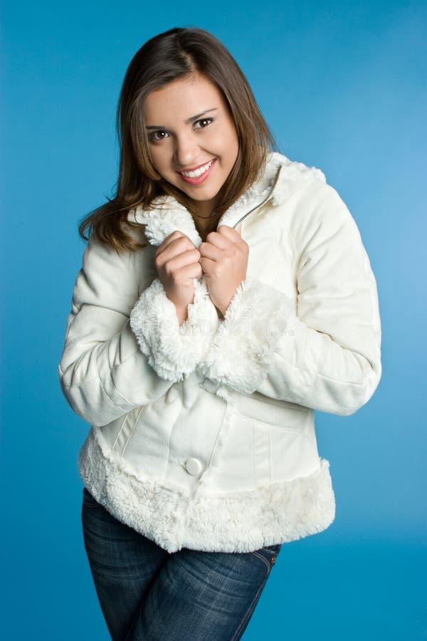 Winter-Frau lizenzfreie stockbilder