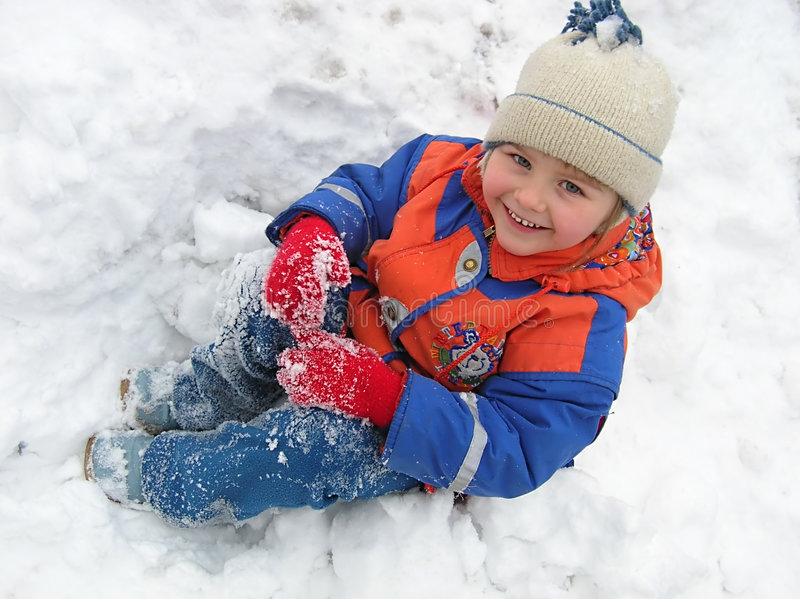 Download Winter fun stock image. Image of funny, coat, small, vacation - 1511301