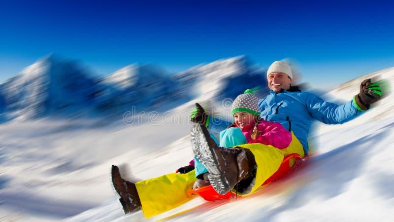 Winter fun royalty free stock photo