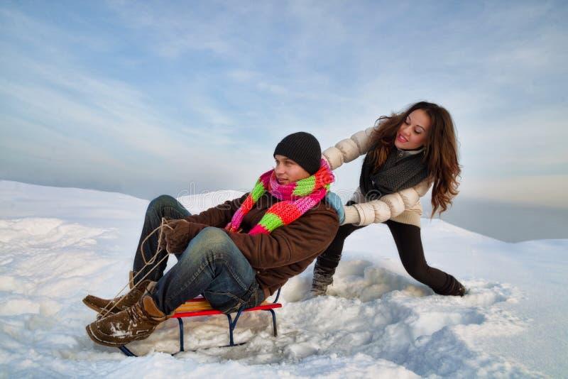 Winter Fun Royalty Free Stock Photography