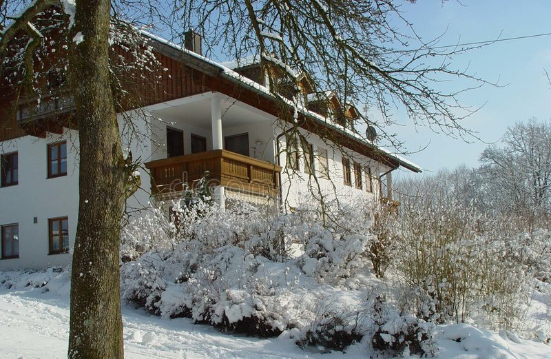 Download Winter in Germany stock photo. Image of blue, house, wood - 28450