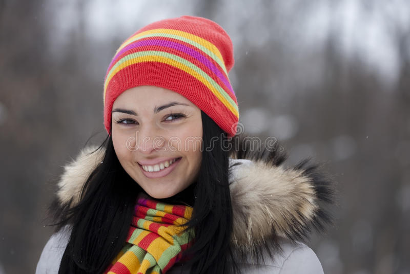 Download Winter Girl Stock Photos - Image: 12968093