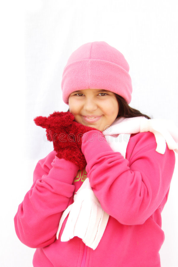 Download Winter Girl Royalty Free Stock Photo - Image: 3305835