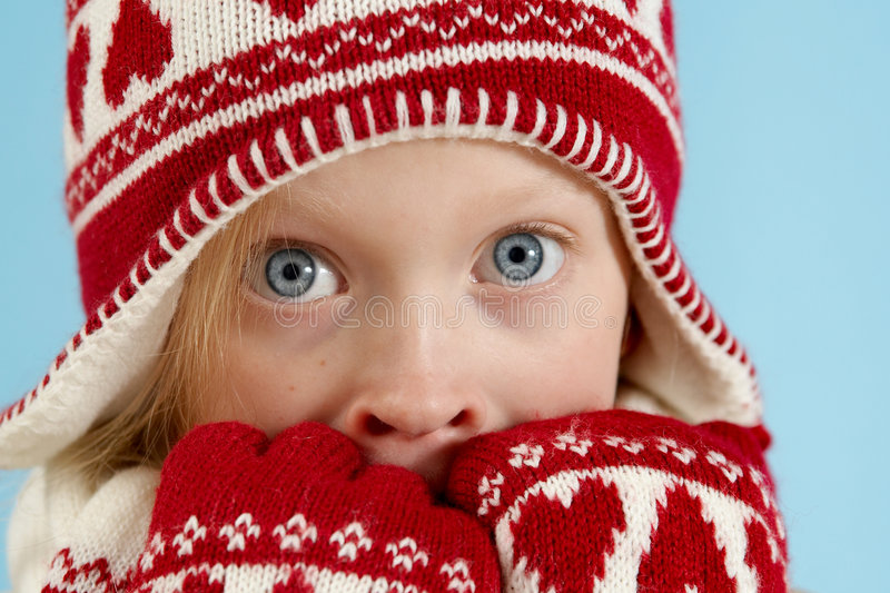 Download Winter girl stock photo. Image of season, childhood, winter - 3590922