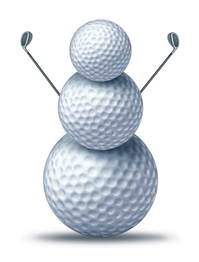 Winter Golf Royalty Free Stock Photo