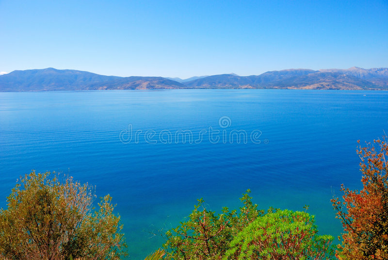 Winter, greece royalty free stock images