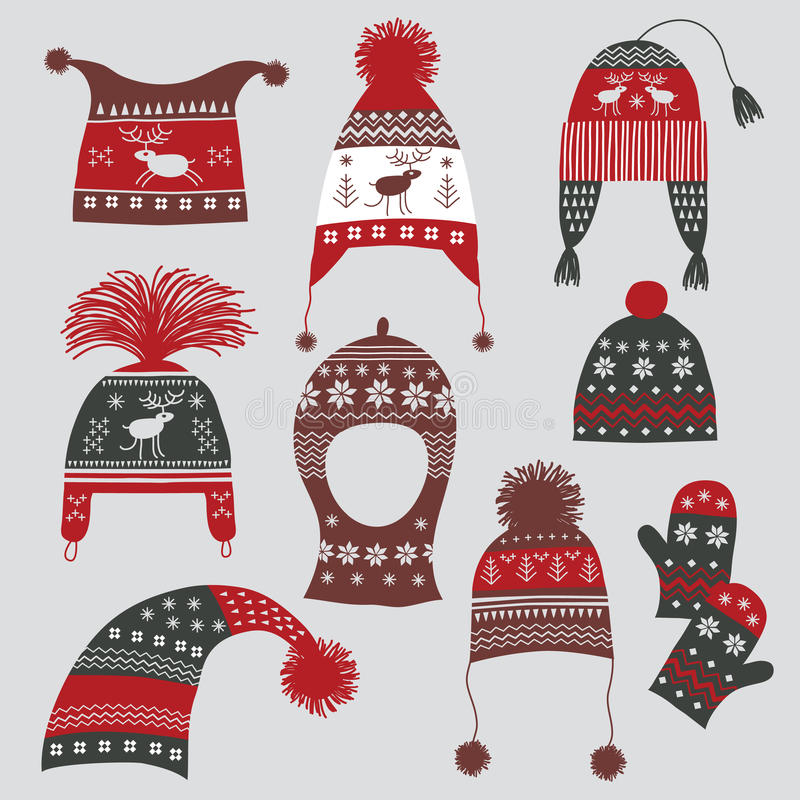 Free Winter Hats Royalty Free Stock Images - 16663359