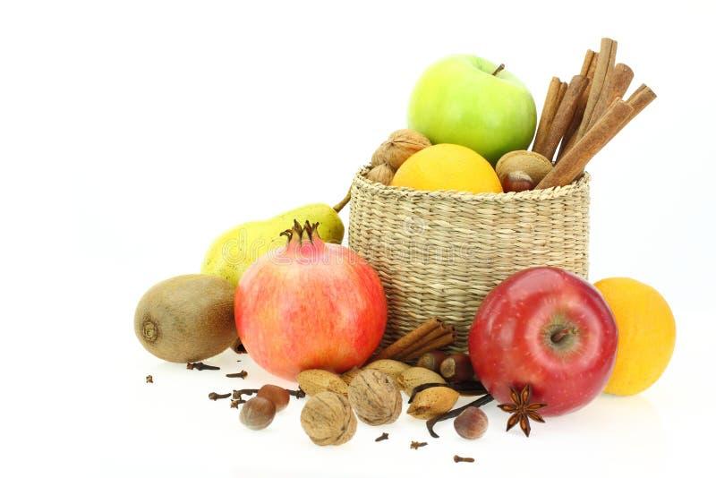 Download Winter healthy food stock photo. Image of cinnamon, fruit - 26544834
