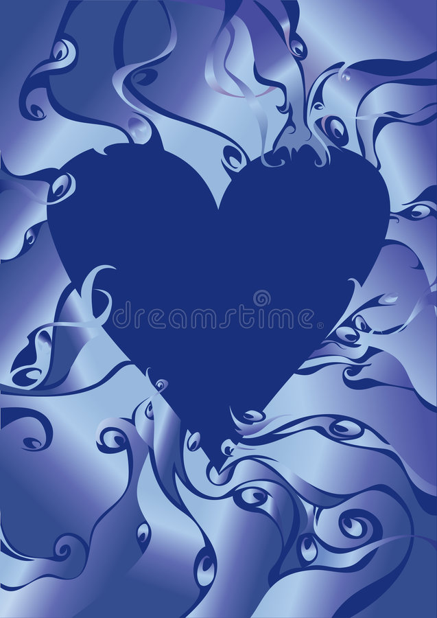 Download Winter Heart. Royalty Free Stock Image - Image: 7801236