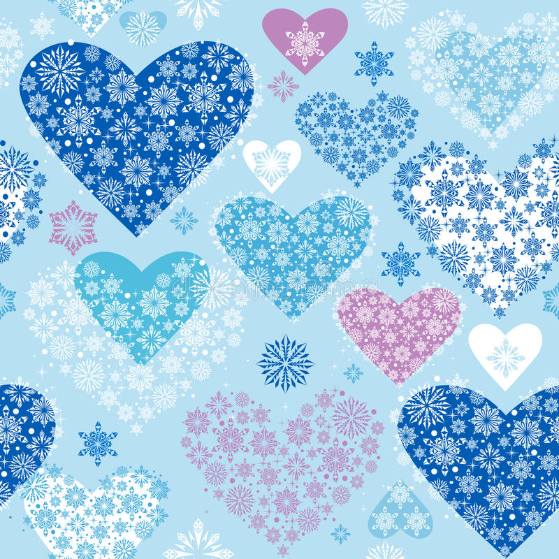 Download Winter Hearts Royalty Free Stock Image - Image: 17187656