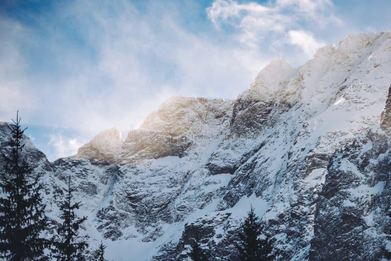 Winter in High Tatra mountains royalty free stock photos