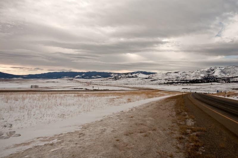 Download Winter highway stock photo. Image of snow, adventure - 12677004
