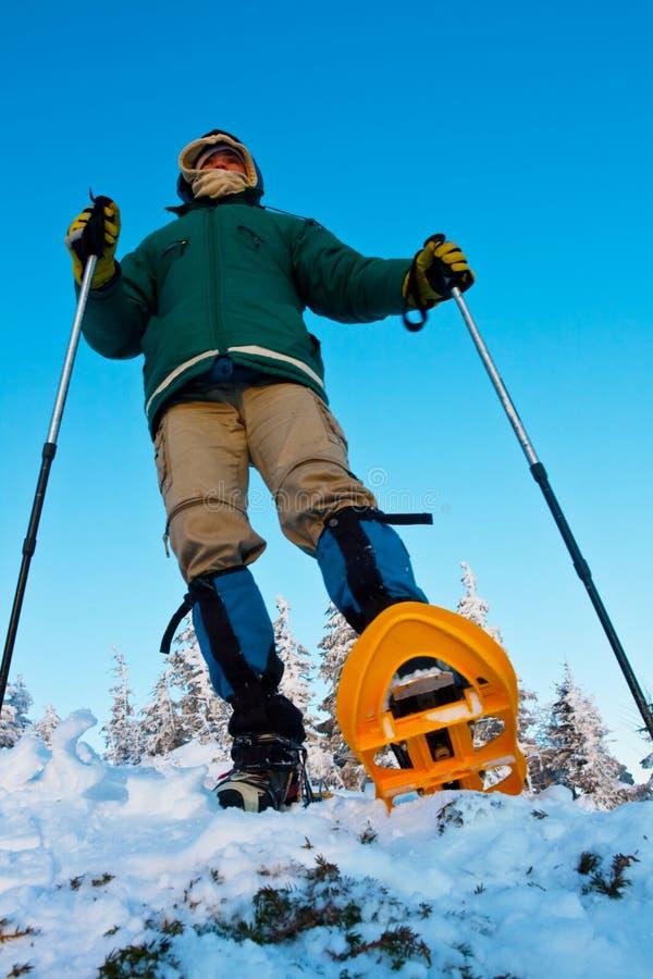 Download Winter hike stock image. Image of season, sunshine, hike - 9814027