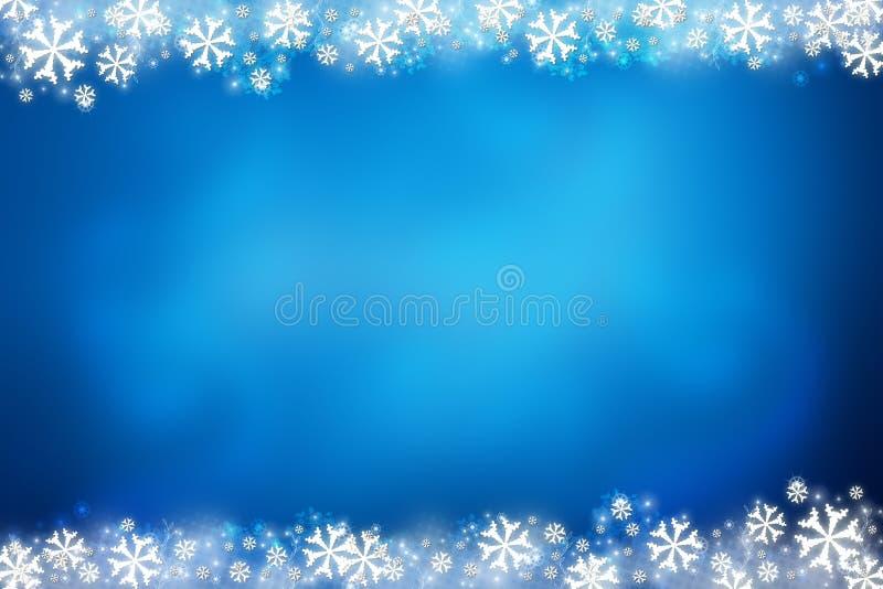 Winter-Hintergrund stock abbildung