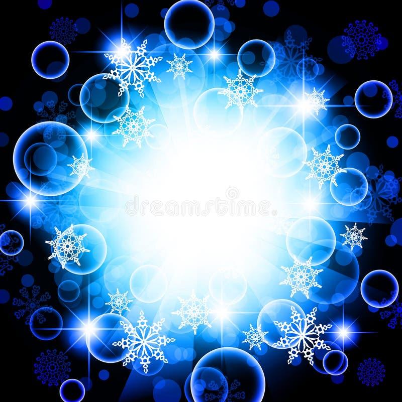 Winter holiday royalty free illustration