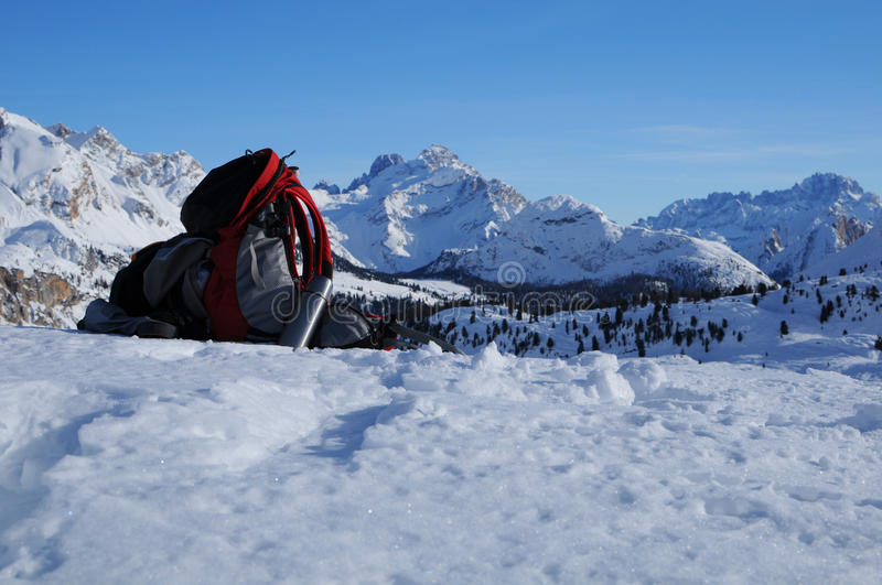 Download Winter holiday stock photo. Image of cold, dolomites - 18191728