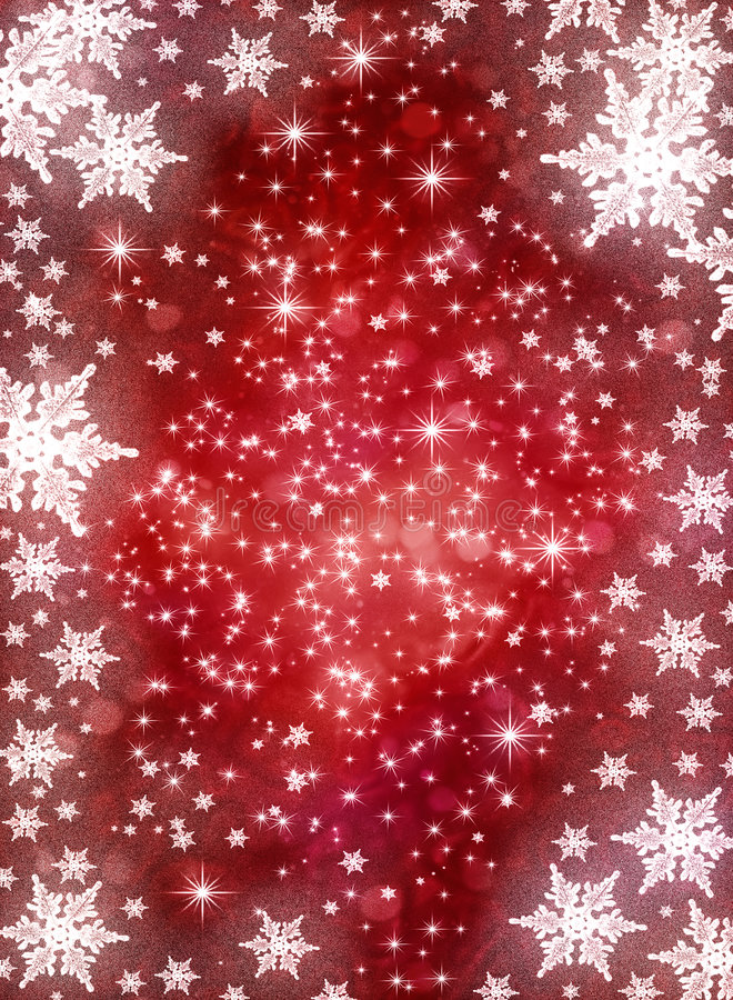Winter holiday background. With snowflakes royalty free illustration