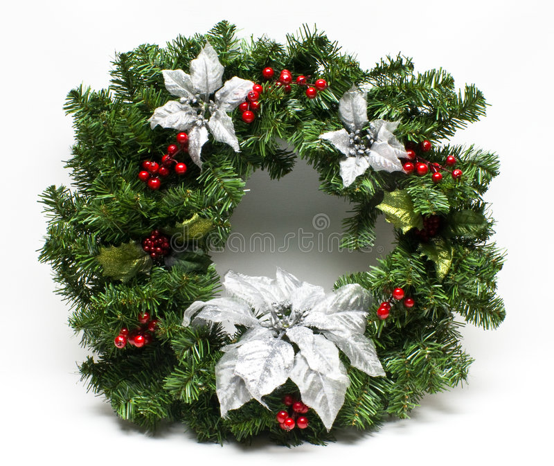 Download Winter Holiday Christmas Wreath Stock Photos - Image: 7318213