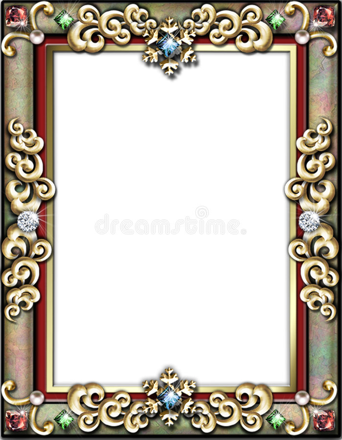 Free Winter Holiday Frame Stock Photo - 527850