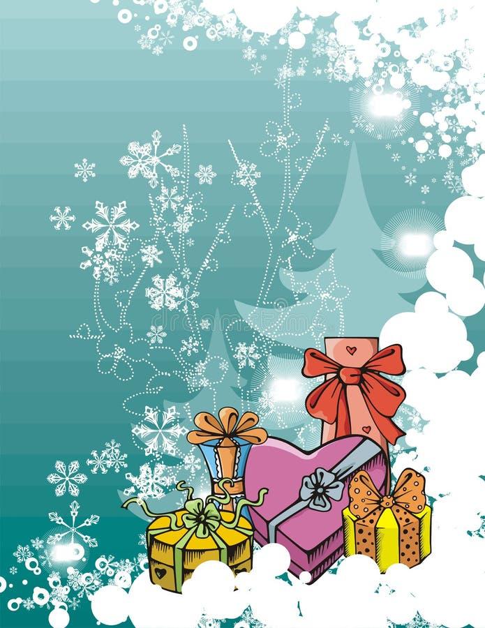 Winter holiday series royalty free illustration
