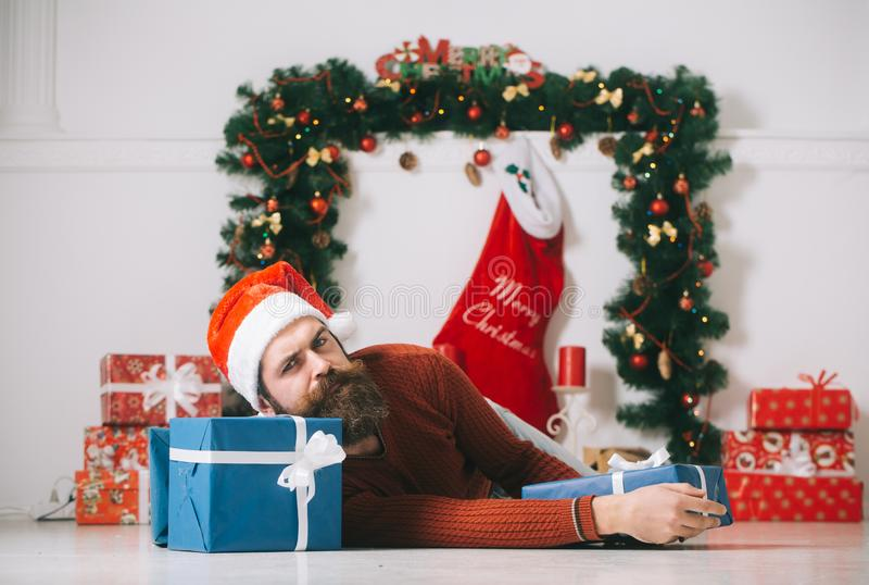 Winter holiday and xmas. stock image