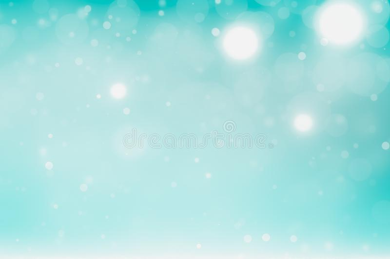 Winter holidays background for blue white silver christmas royalty free illustration