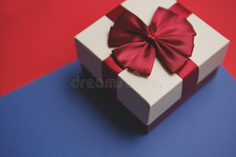 Winter holidays decor stock photo