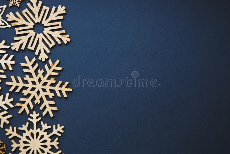 Winter holidays decor royalty free stock image
