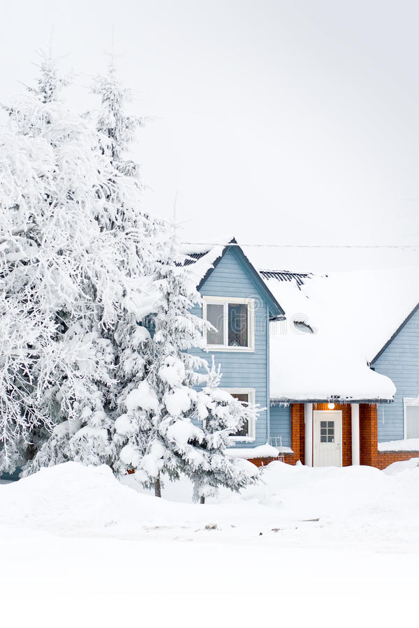 Download Winter home stock photo. Image of serenity, winter, nature - 12591302