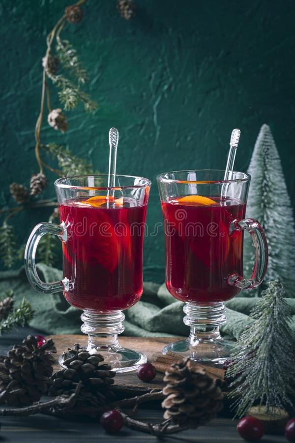 Winter hot drink royalty free stock photography