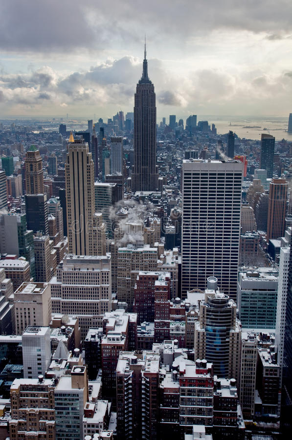 Free Winter In New York City Royalty Free Stock Photography - 13222647