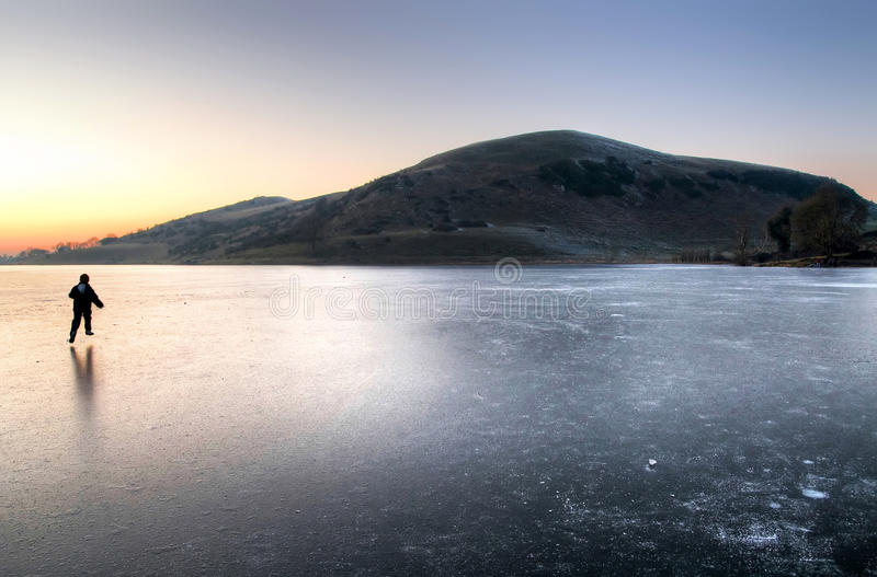 Winter in Ireland royalty free stock images