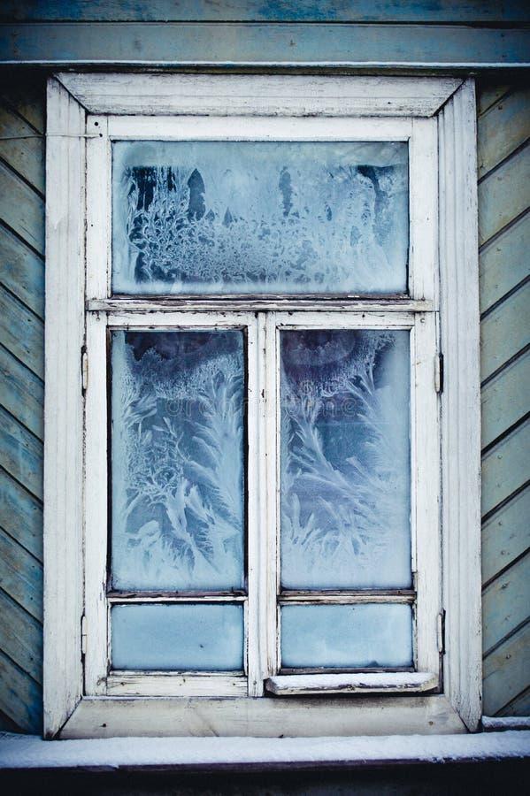 Winter ist der beste Maler stockfotografie