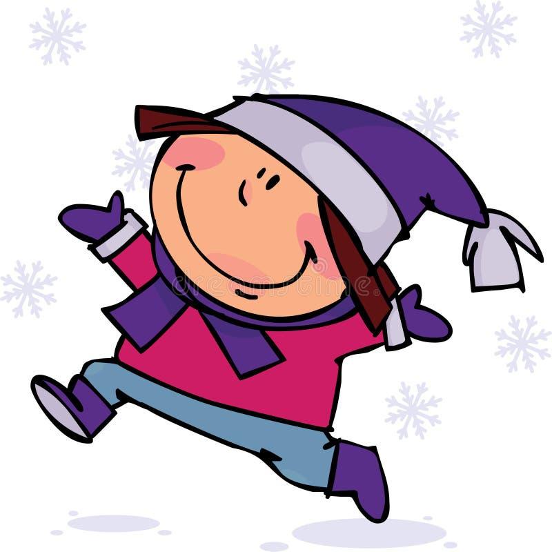 Download Winter kid stock vector. Image of outdoor, winter, snow - 16364966