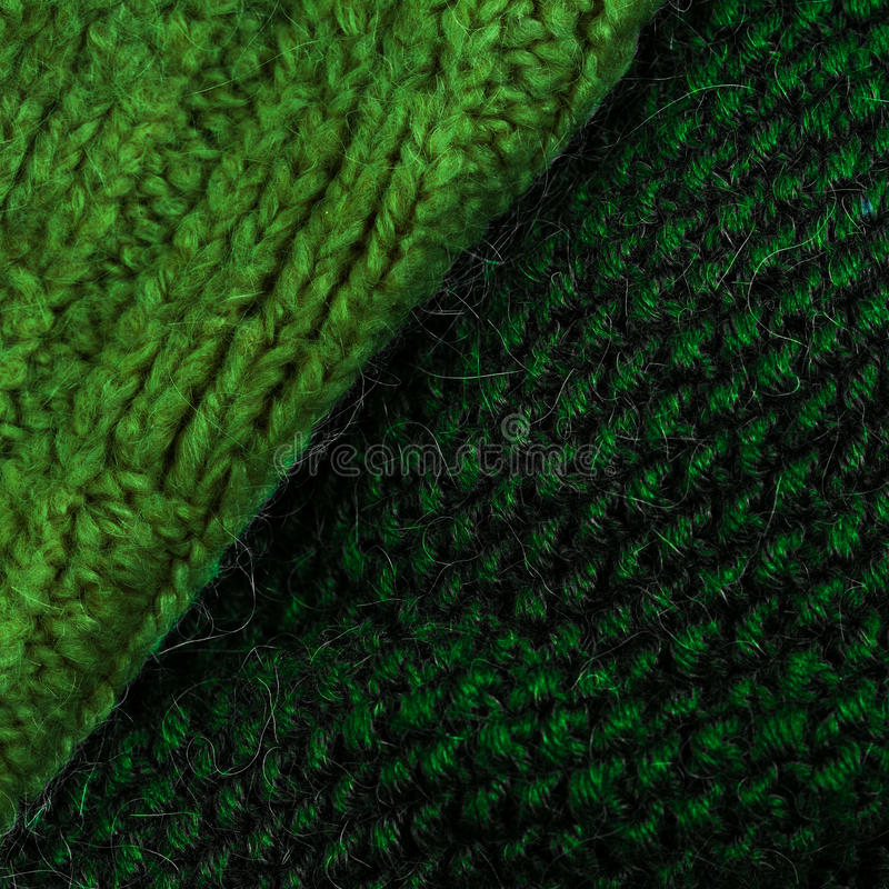 Winter knitting woolen texture background. Colorful knitted horizontal textured background. stock photo