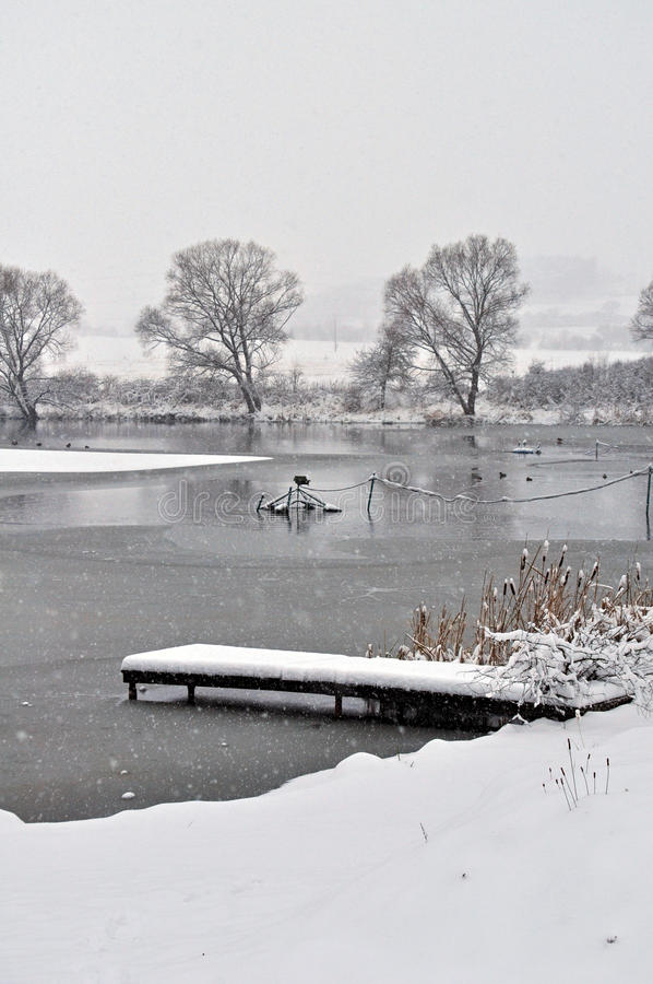 Download Winter Lake Royalty Free Stock Photography - Image: 18837797