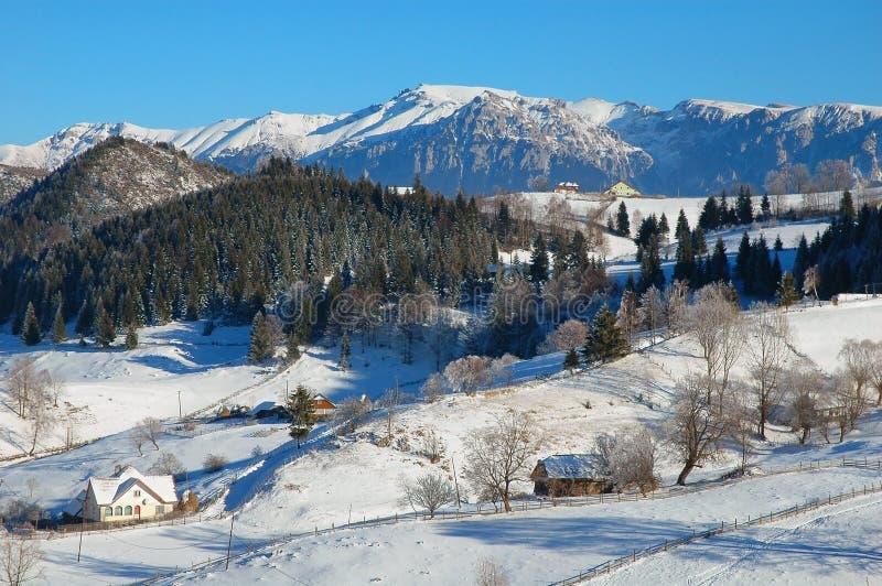 Download Winter landscape stock photo. Image of blue, romania - 13034264