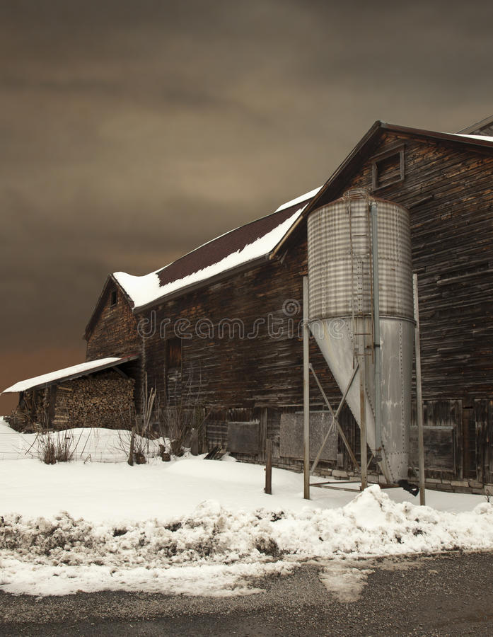 Download Winter landscape stock photo. Image of gravel, scene - 18723730